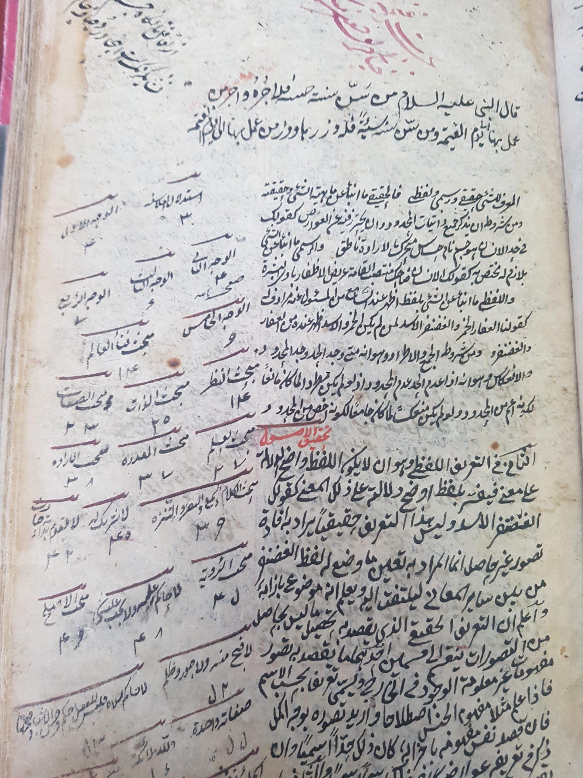 المخطوطة رقم 4